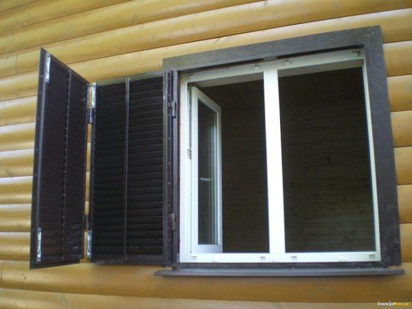 стальные жалюзи на окна