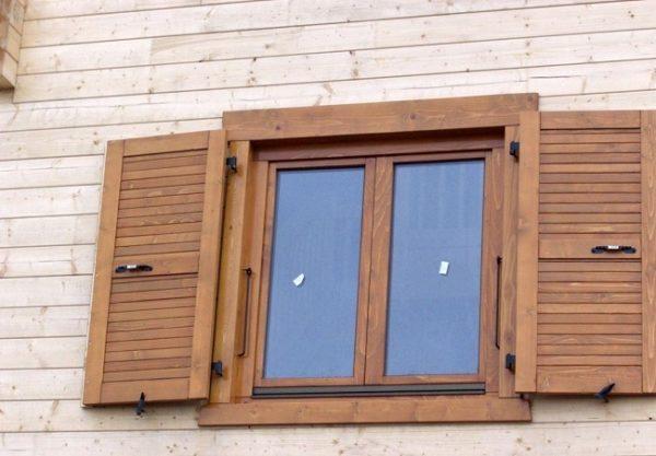 ставни деревянные для окон