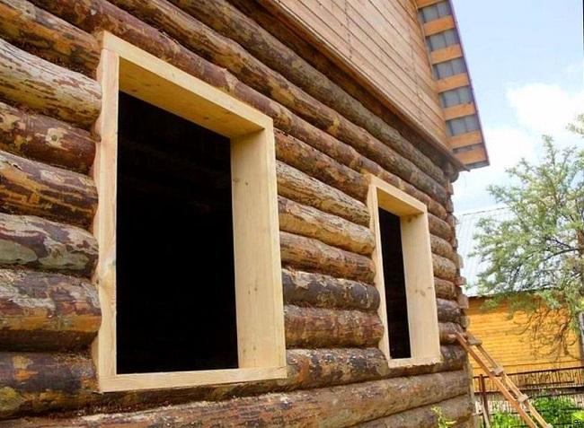назначение обсады для деревянного дома