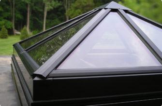 купольные зенитные фонари для зданий