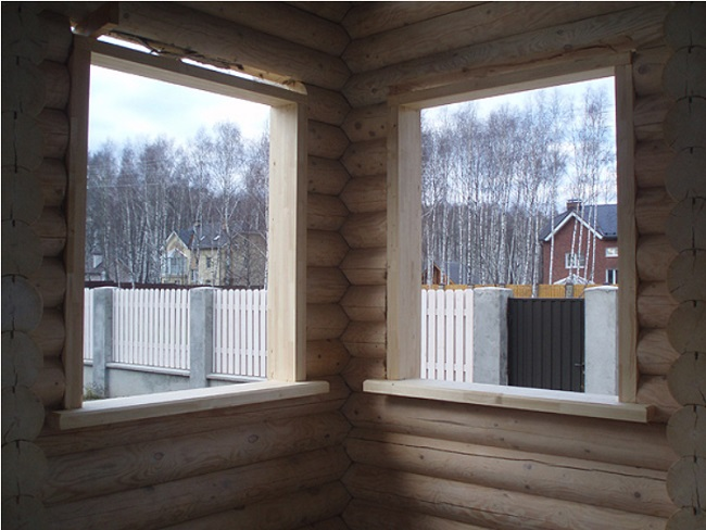 установка обсады для пластикового окна
