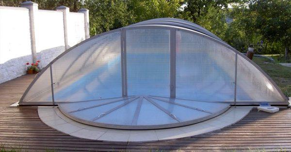 зенитный фонарь из сотового поликарбоната