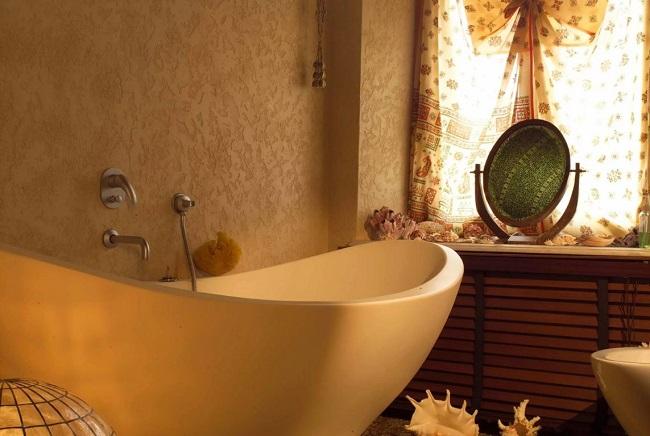штукатурка короед в ванной