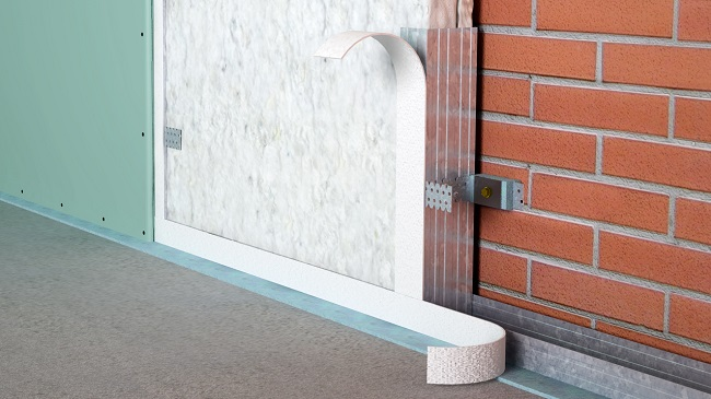 пример каркасной звукоизоляции стен
