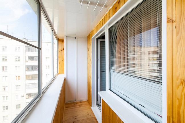 вагонка для холодного балкона