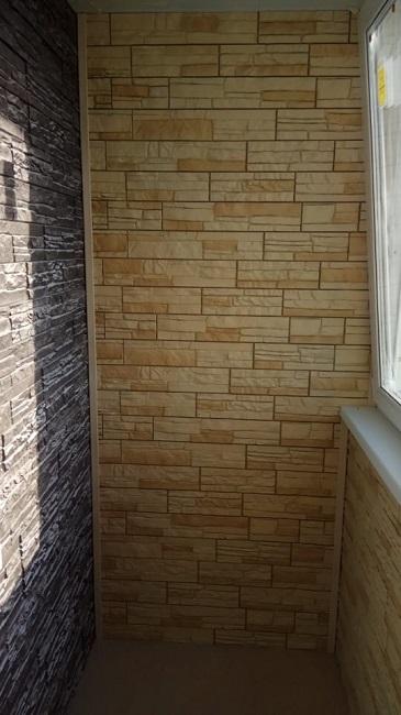 виниловый сайдинг на балкон