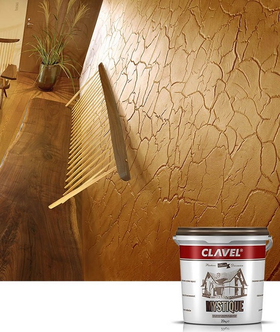 фактурная краска Clavel