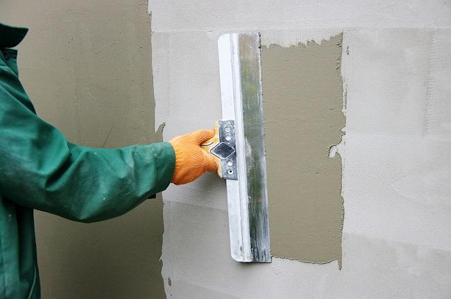 шпаклевание и выравнивание стен