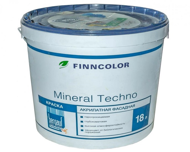 минеральная краска