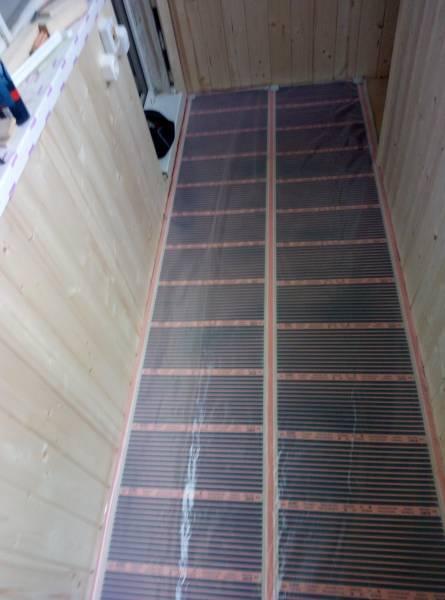 гидроизоляция пленкой для инфракрасного теплого пола