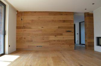 отделка стен жилых помещений ламинатом