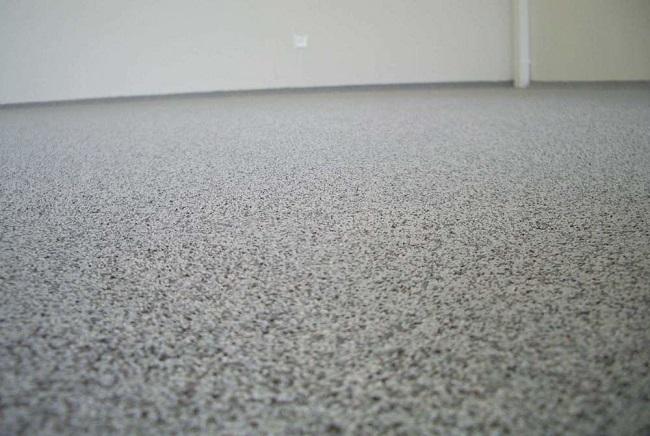 полимерный пол с кварцевым песком
