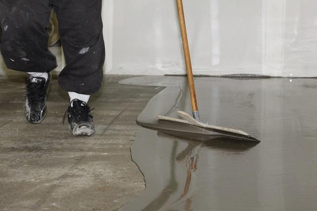 наливной пол для выравнивания бетонного