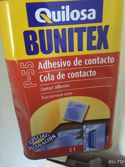 клей Bunitex. для пробки
