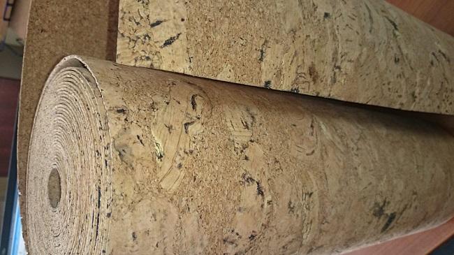 пробковые рулоны для стен