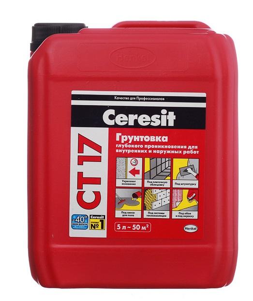 грунтовка Ceresit CT17