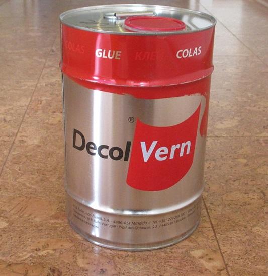 Клей для приклеивания пробки Decol Vern