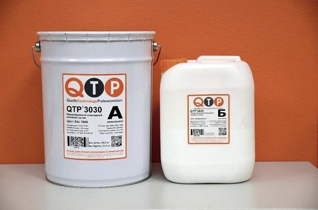 полимерный наливные полы QTP