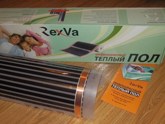 плёночный пол RexVa