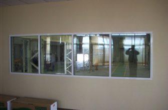 противопожарное окно для предприятий