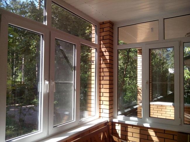 пластиковые окна на веранду