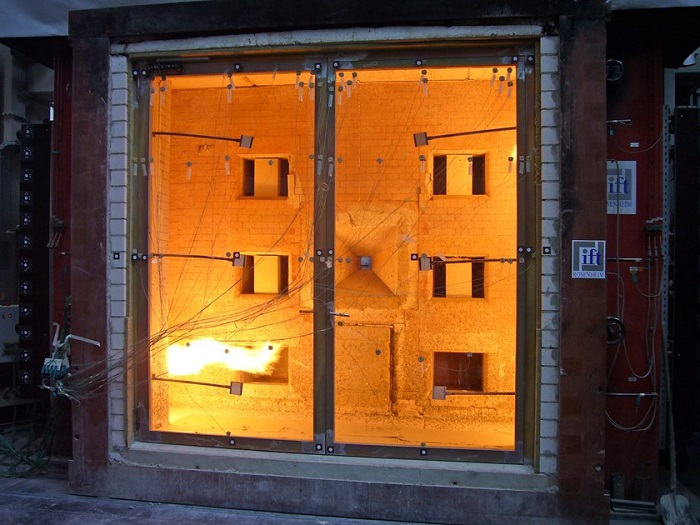 испытание противопожарных окон