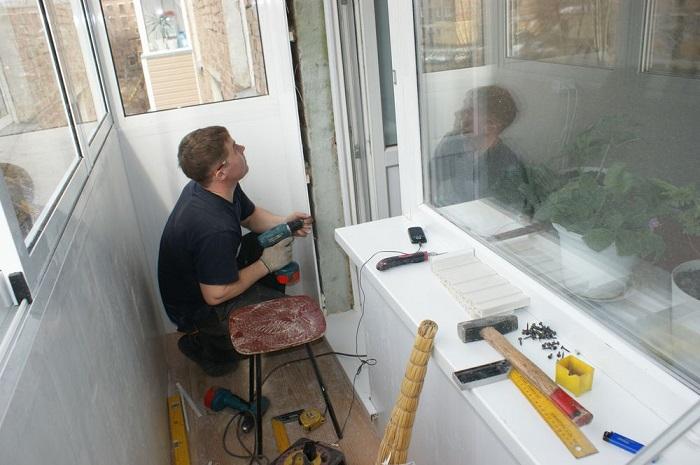 отделка и утепление балкона фирмы