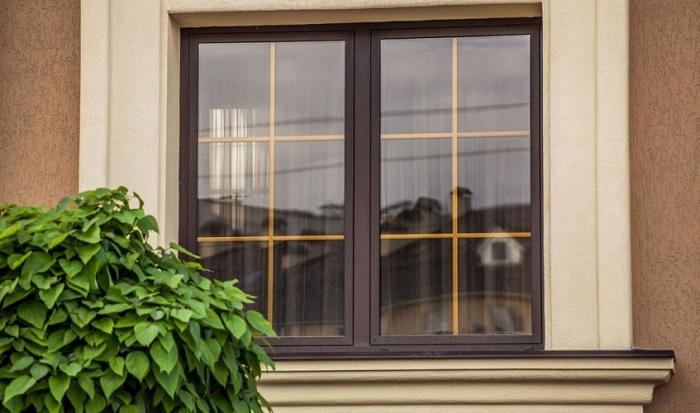 финские окна со шпросами