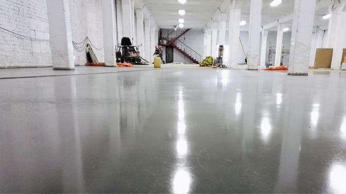 бетонные полы упрочненные