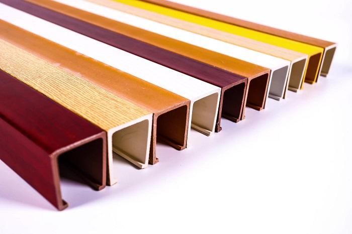 рейки декоративные для интерьера из пластика