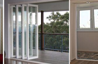 сдвижные двери на балкон виды