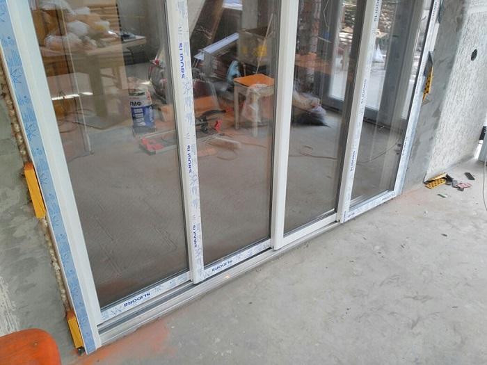раздвижные балконные двери slidors