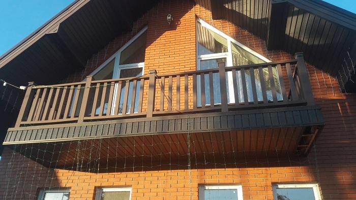 балконные ограждения решетчатого типа