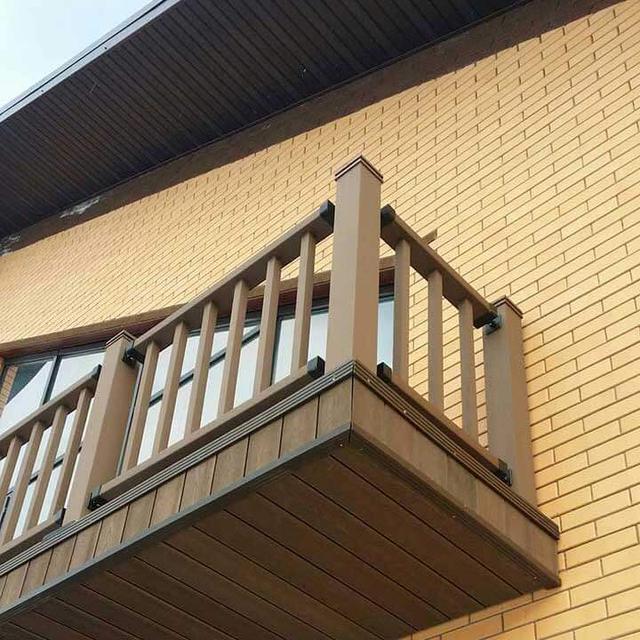 деревянные ограждения балконов кирпичных домов