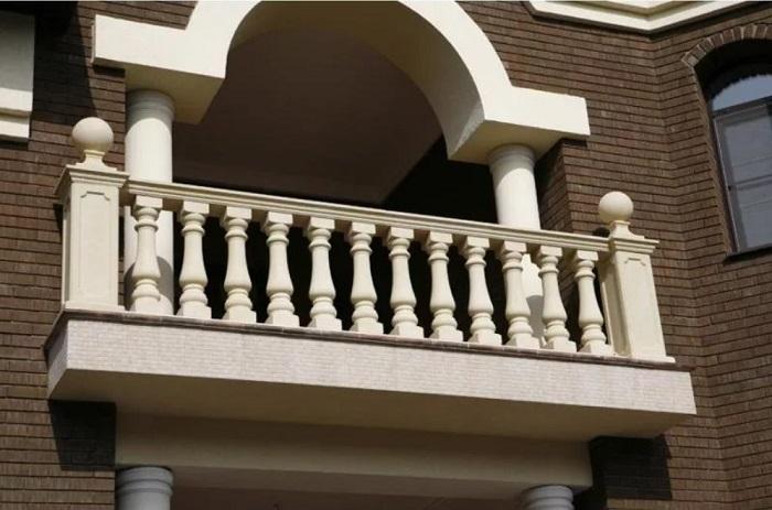 каменные ограждения для балкона