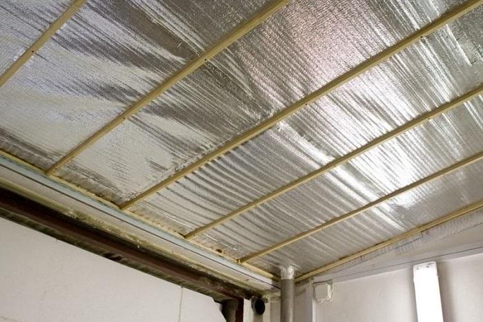 фольгоизол на потолок