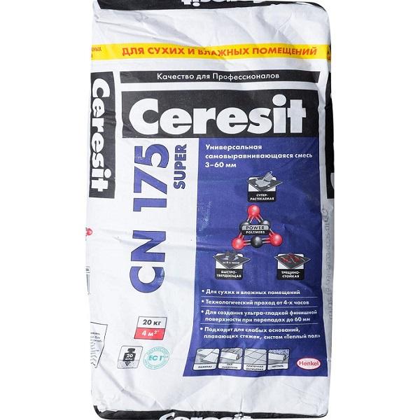 наливной пол ceresit cn 175
