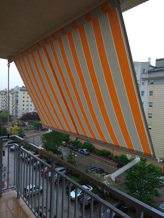 виды маркиз для балкона