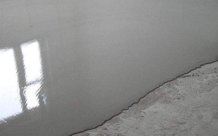 черновой самовыравнивающийся наливной пол